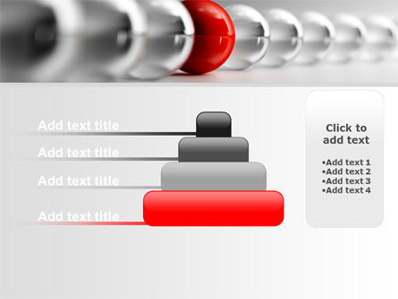 Red Ball PowerPoint Template Slide 8