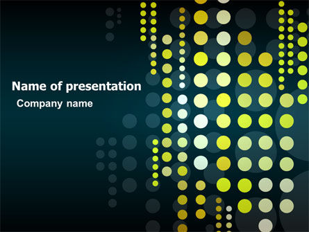Dotted Theme PowerPoint Template