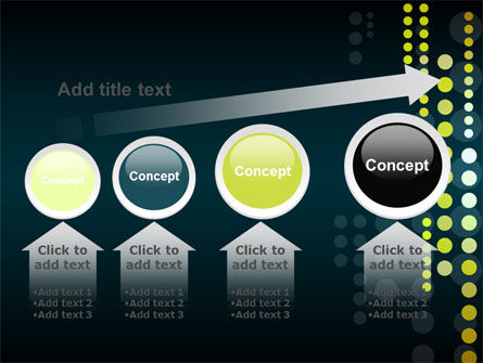 Dotted Theme PowerPoint Template Slide 13