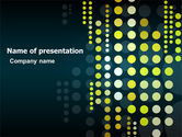 Abstract/Textures: Dotted Theme PowerPoint Template #07015
