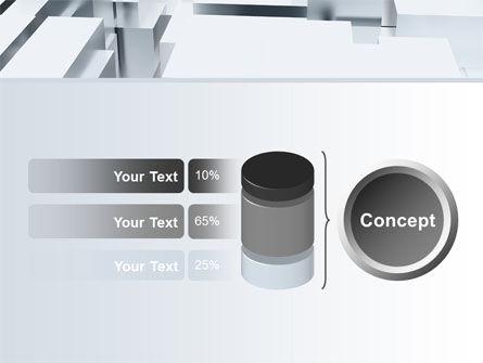 3D Blocks Free PowerPoint Template Slide 11