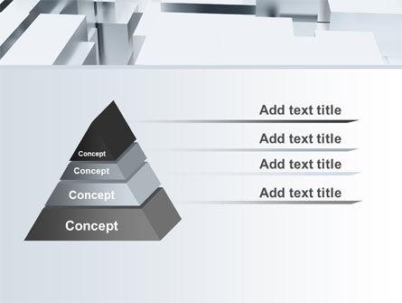 3D Blocks Free PowerPoint Template Slide 12
