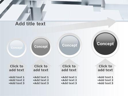 3D Blocks Free PowerPoint Template Slide 13