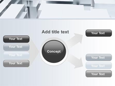 3D Blocks Free PowerPoint Template Slide 14