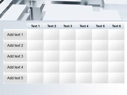 3D Blocks Free PowerPoint Template Slide 15