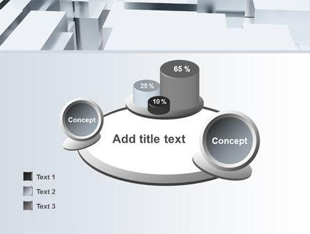 3D Blocks Free PowerPoint Template Slide 16