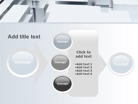 3D Blocks Free PowerPoint Template Slide 17