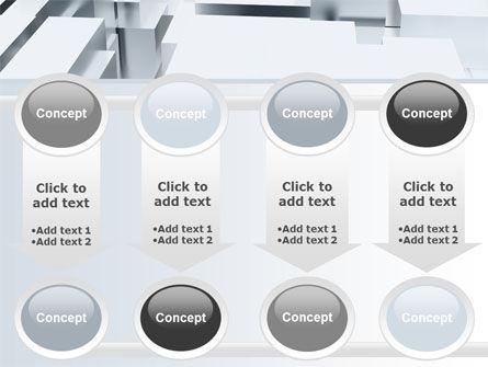 3D Blocks Free PowerPoint Template Slide 18