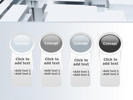3D Blocks Free PowerPoint Template Slide 5