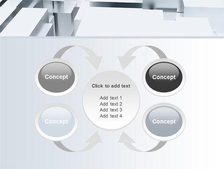 3D Blocks Free PowerPoint Template Slide 6