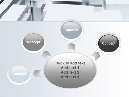 3D Blocks Free PowerPoint Template Slide 7