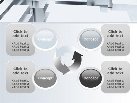 3D Blocks Free PowerPoint Template Slide 9