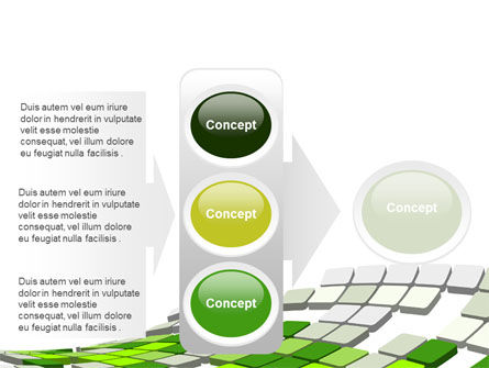 Green Pixelated Theme PowerPoint Template Slide 11