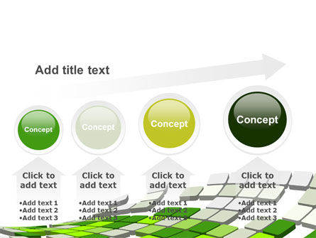 Green Pixelated Theme PowerPoint Template Slide 13