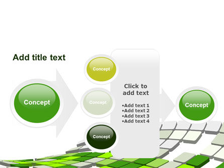 Green Pixelated Theme PowerPoint Template Slide 17
