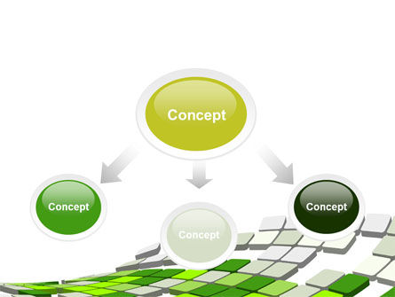 Green Pixelated Theme PowerPoint Template Slide 4