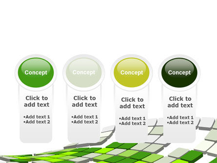 Green Pixelated Theme PowerPoint Template Slide 5