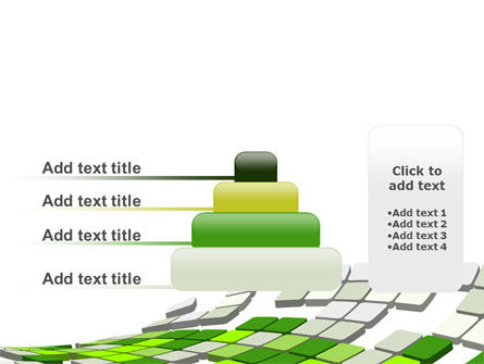 Green Pixelated Theme PowerPoint Template Slide 8