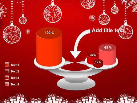 Red New Year Theme PowerPoint Template Slide 10
