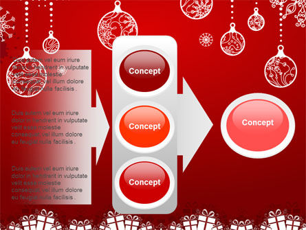 Red New Year Theme PowerPoint Template Slide 11