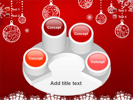 Red New Year Theme PowerPoint Template Slide 12