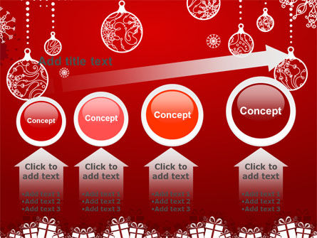 Red New Year Theme PowerPoint Template Slide 13