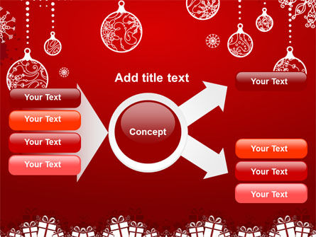 Red New Year Theme PowerPoint Template Slide 14