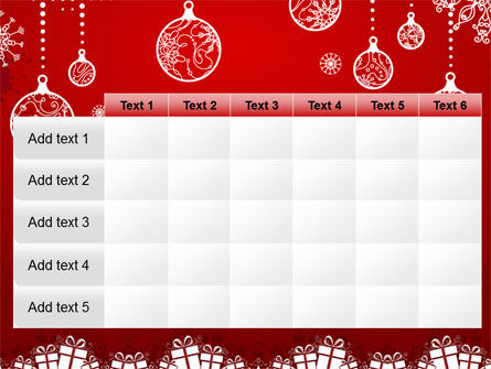 Red New Year Theme PowerPoint Template Slide 15