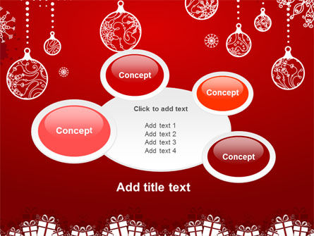 Red New Year Theme PowerPoint Template Slide 16