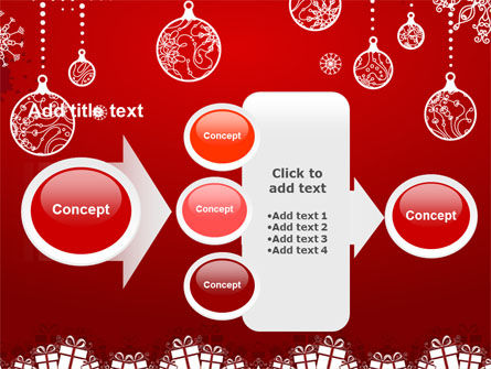 Red New Year Theme PowerPoint Template Slide 17