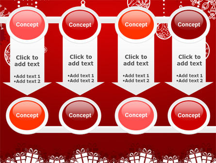 Red New Year Theme PowerPoint Template Slide 18