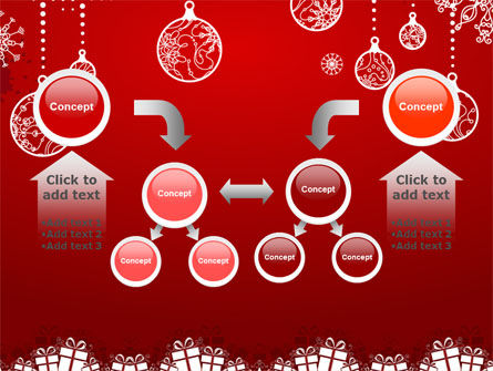 Red New Year Theme PowerPoint Template Slide 19