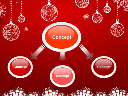 Red New Year Theme PowerPoint Template, Slide 4, 07018, Holiday/Special Occasion — PoweredTemplate.com