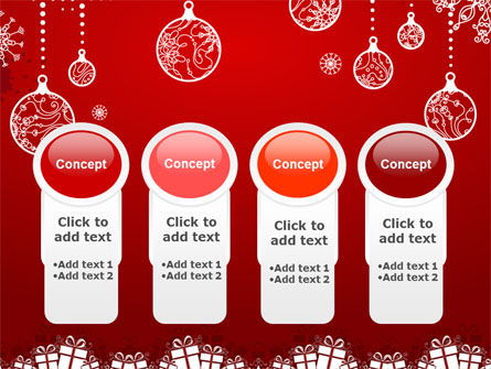 Red New Year Theme PowerPoint Template Slide 5