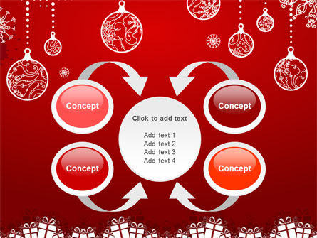 Red New Year Theme PowerPoint Template Slide 6