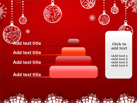 Red New Year Theme PowerPoint Template Slide 8