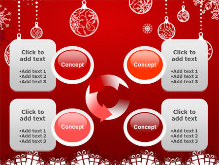 Red New Year Theme PowerPoint Template Slide 9