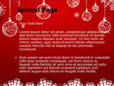 Red New Year Theme PowerPoint Template#2