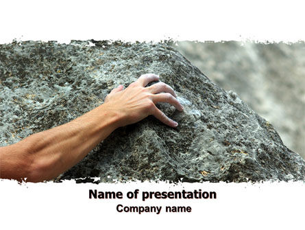 Survivor PowerPoint Template, 07020, Business Concepts — PoweredTemplate.com