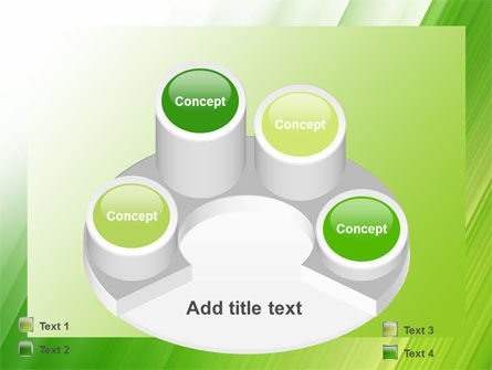 Clean Green Theme Free PowerPoint Template Slide 12