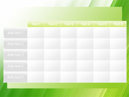 Clean Green Theme Free PowerPoint Template Slide 15