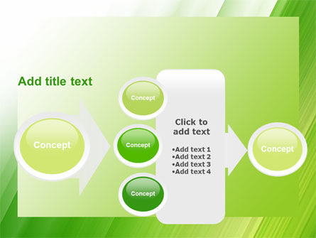 Clean Green Theme Free PowerPoint Template Slide 17