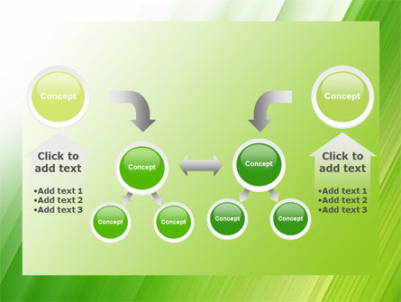 Clean Green Theme Free PowerPoint Template Slide 19