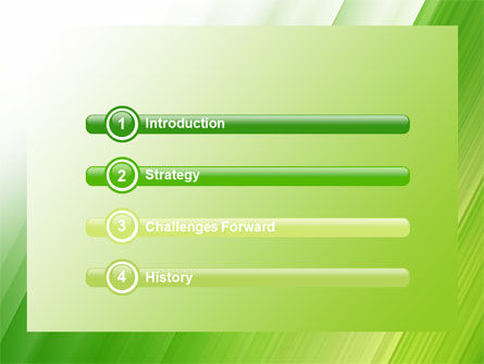 Clean Green Theme Free PowerPoint Template Slide 3