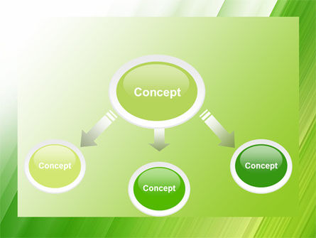 Clean Green Theme Free PowerPoint Template Slide 4
