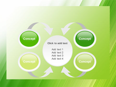 Clean Green Theme Free PowerPoint Template Slide 6