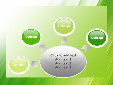Clean Green Theme Free PowerPoint Template Slide 7