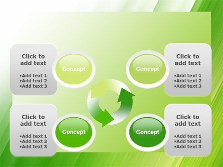 Clean Green Theme Free PowerPoint Template Slide 9