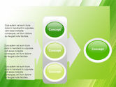 Clean Green Theme Free PowerPoint Template#11