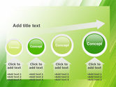 Clean Green Theme Free PowerPoint Template#13